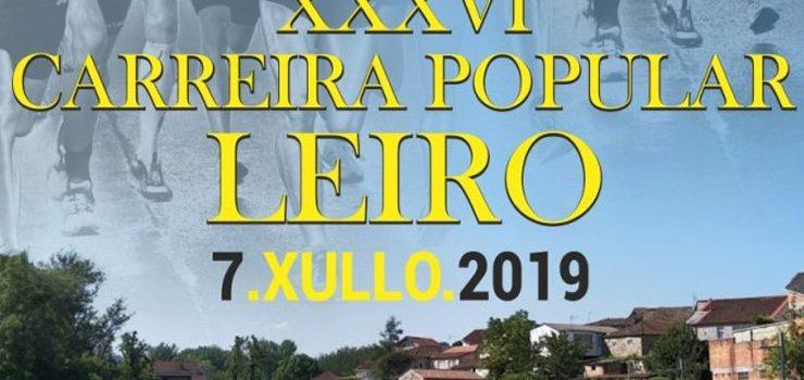 Leiro recibirá atletas de toda Galicia para a súa carreira popular