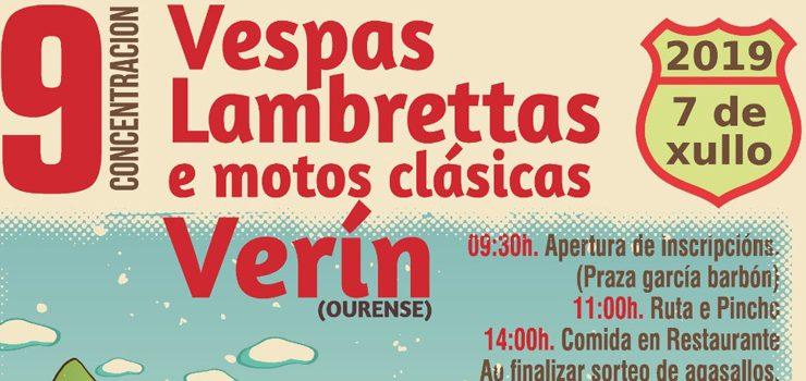 Concentración de Vespas en Verín