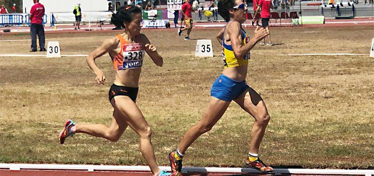 Sete medallas para Ourense no nacional máster de atletismo