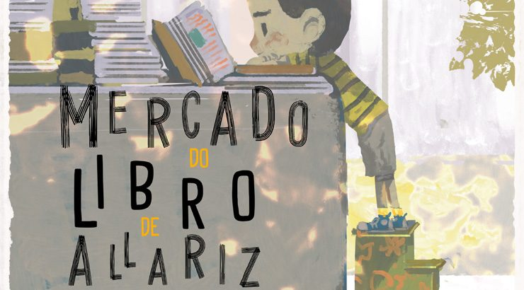Mercado do libro en Allariz
