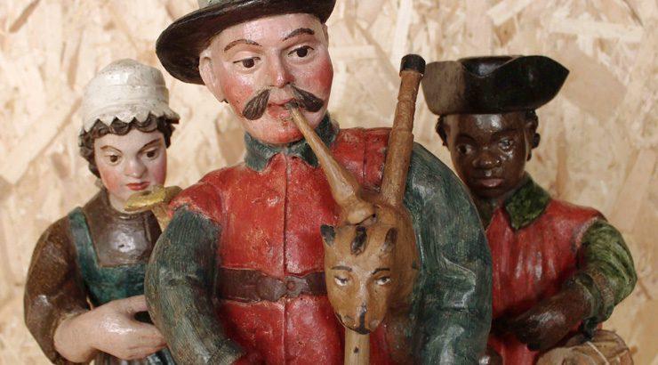 Unha exposición amosa a relación de Verín coa gaita