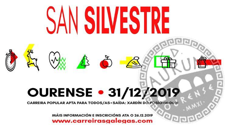 Ourense despedirá o ano a ritmo da San Silvestre