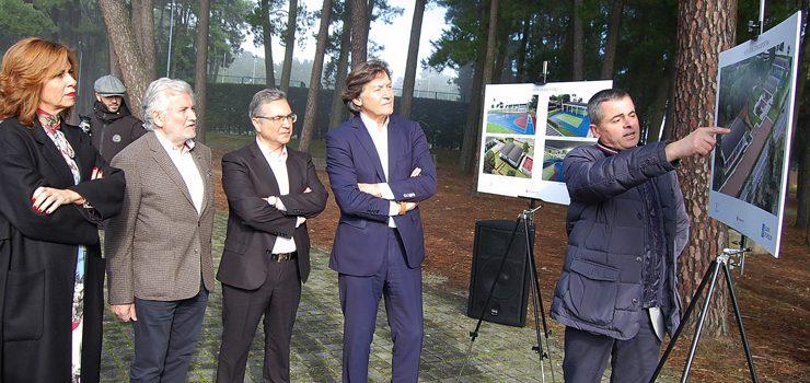 A Xunta saca a licitación as obras de construción das novas instalacións deportivas no complexo de Monterrei