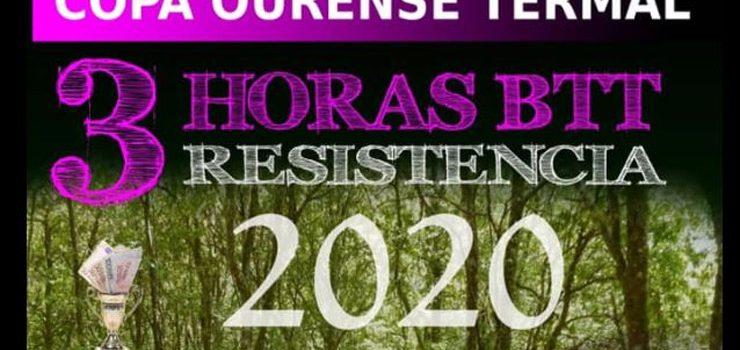 A I Copa Ourense Termal – 3H Resistencia BTT contará con tres etapas