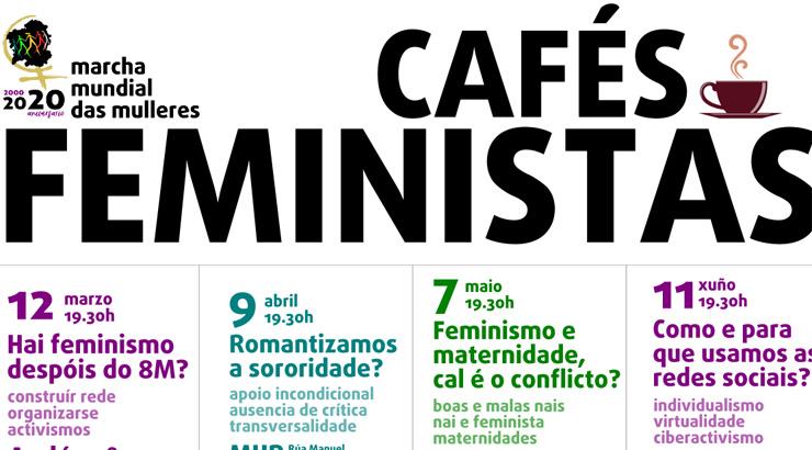 """Un ano de """"Cafés feministas"""""""