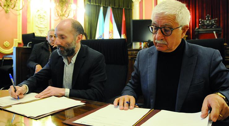 Ourense e Montalegre estreitan lazos