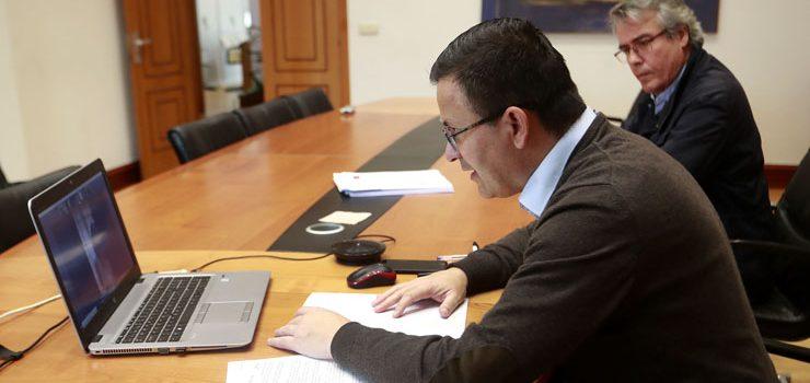 Xunta e o sector vitivinícola valoran o impacto da emerxencia sanitaria