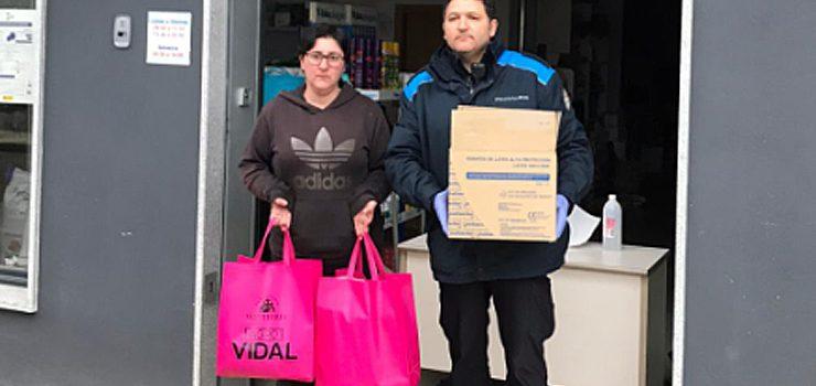 """A empresa """"Agro Vidal"""" doa ao Concello unha importante cantidade de material de protección contra o covid-19"""