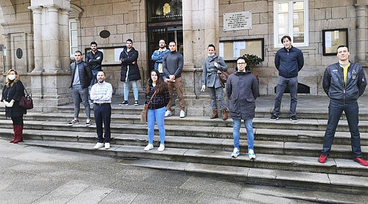 Dez auxiliares para reforzar a Policía Local