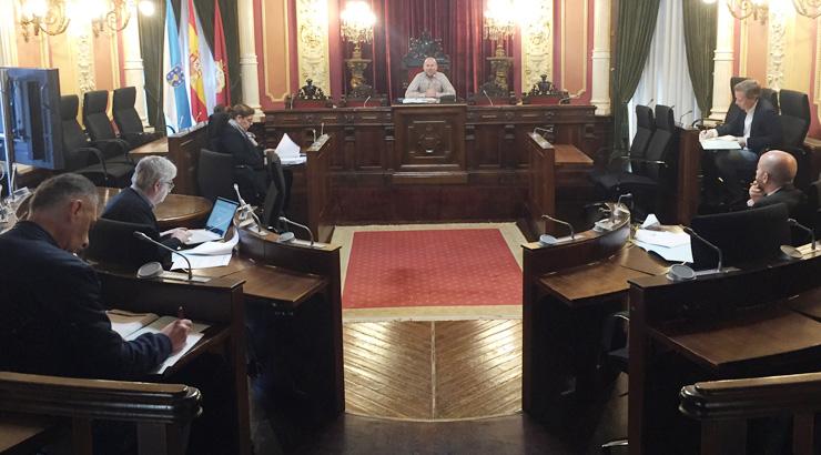 Goberno e oposición analizan o borrador das bases para axudas a autónomos, pemes e comercio