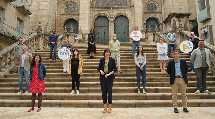 Comeza a campaña electoral en Galicia
