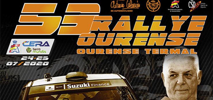 90 equipos no 53º Rali de Ourense