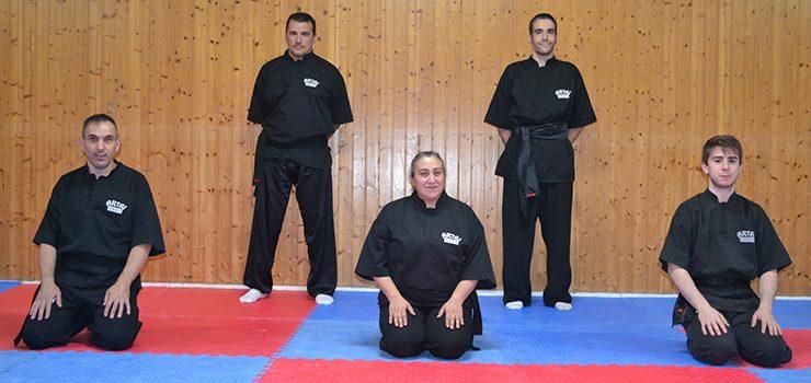 Novos Cinturons Negros para o Kungfu ourensán