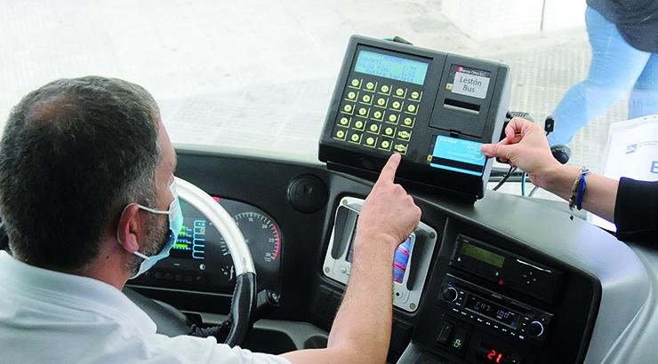 Retorno do transporte público coas máximas medidas de seguridade
