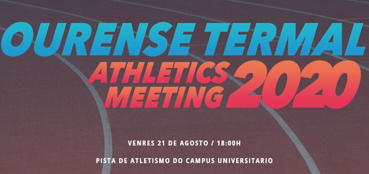 Regresa o Ourense Termal Athletics Meeting