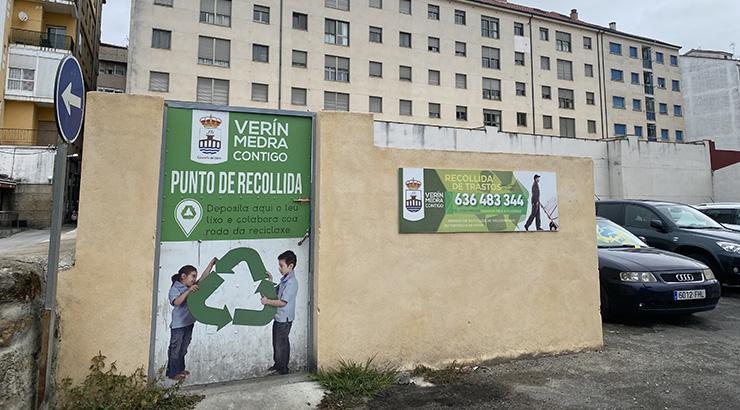 Verín colabora na campaña de concienciación e formación sobre a reciclaxe implementada polo CDR Portas Abertas