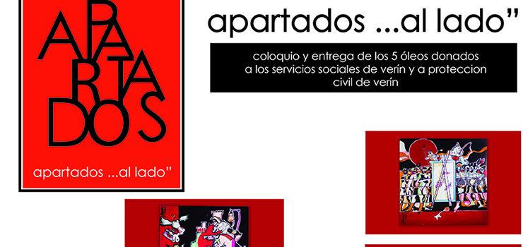 Acto/coloquio solidario, en Verín, do artista Fernando Barreira