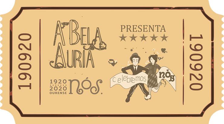 A Bela Auria homenaxea á Xeración Nós