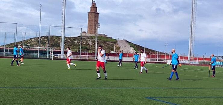 Primeira xornada da liga Galega masculina de hoquei herba