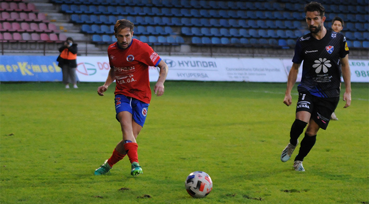 A UD Ourense logra os tres primeiros puntos