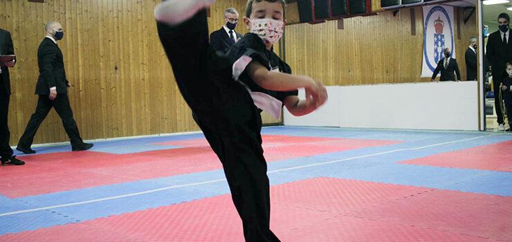 Medalla para o Artai na organización do galego de kungfu