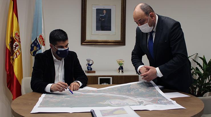 A Xunta traballa na ampliación de máis de 420.000 m2 do Polígono de San Cibrao das Viñas