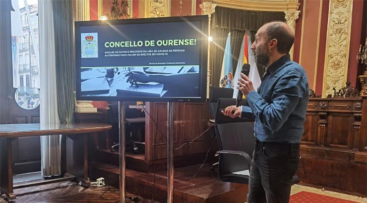 4.390 autónomos recibiron a axuda do Concello de Ourense