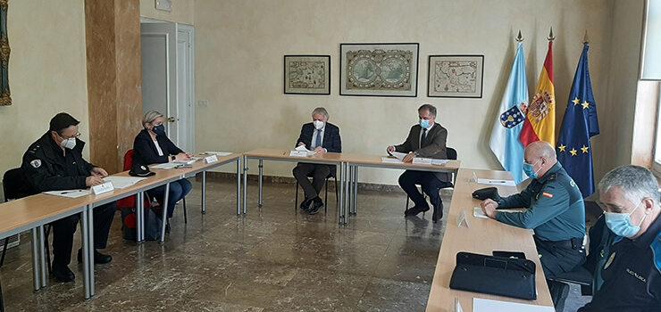 572 controis das medidas fronte a COVID-19 na provincia de Ourense na última semana