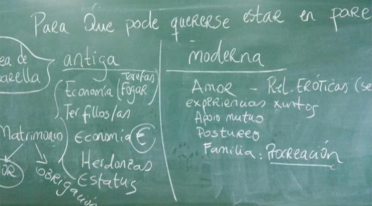 Novo curso de educación sexual nos centros de ensino de Allariz