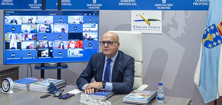 A Deputación de Ourense entra no Eixo Atlántico