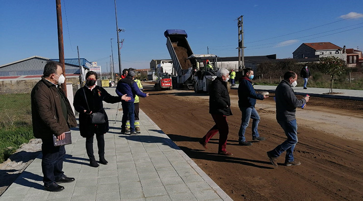 Xinzo transforma tres pista nunha rúa urbana