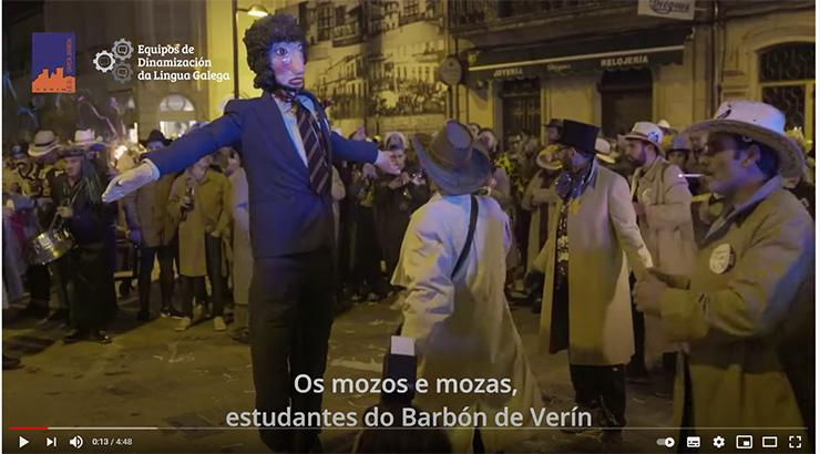 Alumnado do IES García Barbón piden responsabilidade
