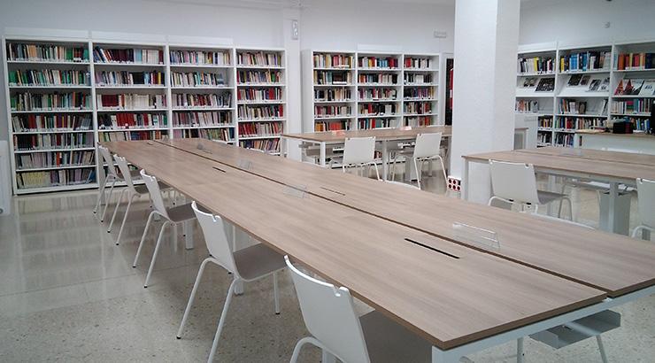 Nova Biblioteca no IES García Barbón