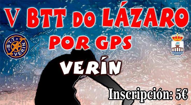 A 5ª edición da carreira BTT do Lázaro será con GPS