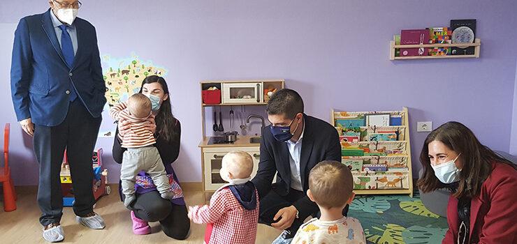 A Xunta habilita un investimento de 2 millóns de euros para a creación de 100 novas prazas en casas niños