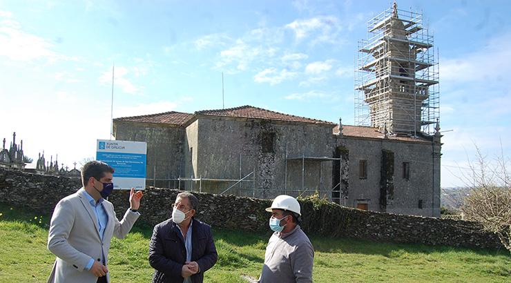 Cultura inviste 200.000 euros na rehabilitación da igrexa de San Bartolomeu