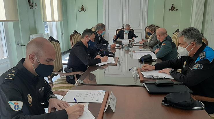 As forzas e corpos de seguridade velarán en Semana Santa polo cumprimento da normativa relativa á hostalaría e ao peche perimetral