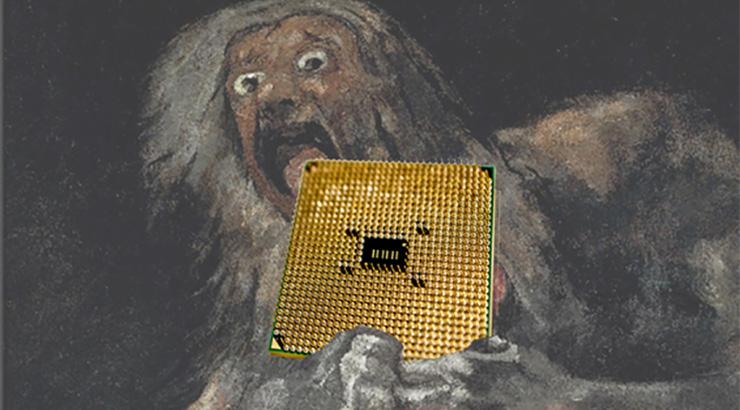 Sobre o colapso dixital: auxe e caída dos chips