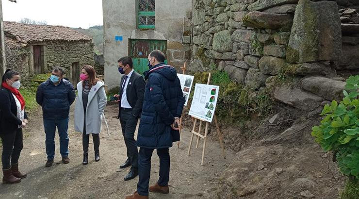 A Xunta rehabilitará o forno tradicional da Caridade