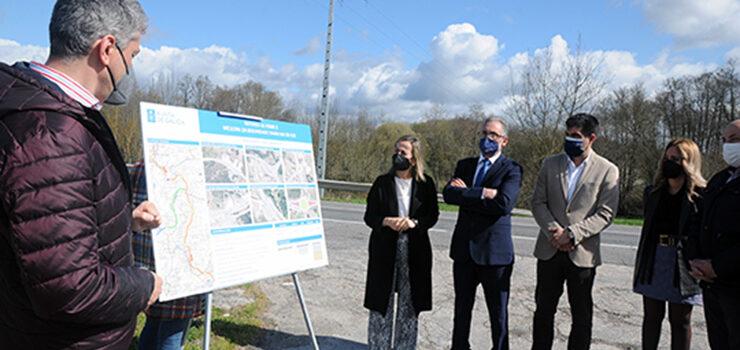 A mellora da estrada N-525 entre os polígonos de Barreiros e San Cibrao, licitadas por 3,6 millóns de euros