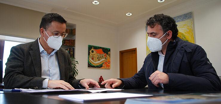 Castrelo de Miño acollerá un proxecto piloto de polígono agrario de viñedo