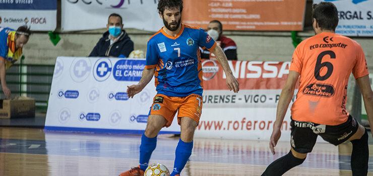 El Sala Ourense comienza la segunda fase con derrota