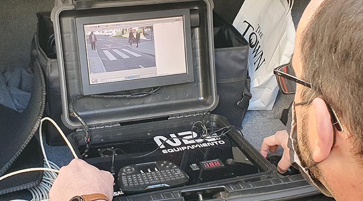 O Concello iniciou as probas para o sistema de control de acceso ás zonas restrinxidas