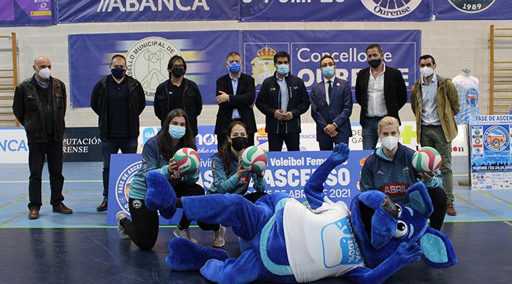 Presentación da fase de ascenso Superliga 2 de voleibol