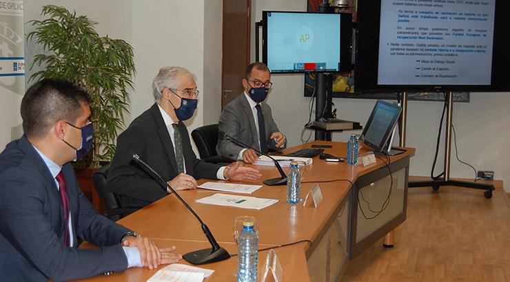 Conde explicou en Ourense a Lei de reactivación económica