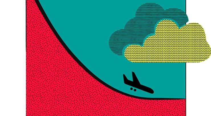 O decrecemento da aviación