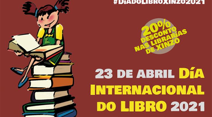 """Xinzo promove a campaña """"Mil libros, mil aventuras!» polo Día do libro"""