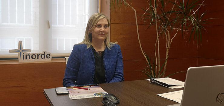 A xerente do Inorde aborda o desenvolvemento económico e social sostible de Ourense nunha conferencia organizada por UMEGAL