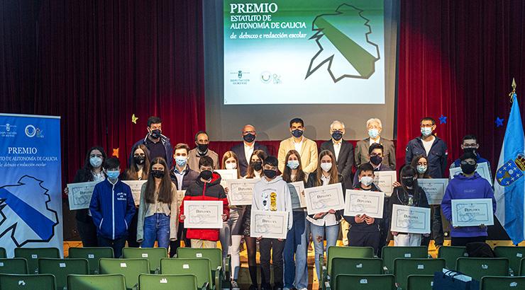 Premios polo 40º aniversario do Estatuto de Autonomía