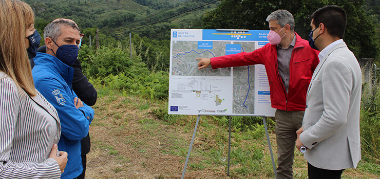 Información pública dos itinerarios peonís e ciclistas de Montealegre e Valdorregueiro